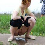 Photo Femme Nue Qui Urine dans le 75